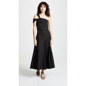 ゴーエン・ジェイ ドレス デイドレス レディース【GOENJ One Shoulder Dress】Black