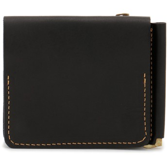 SLOW SLOW スロウ 財布 ウォレット toscana -compact wallet(money clip with coin & card pocket)- 財布,ブラック