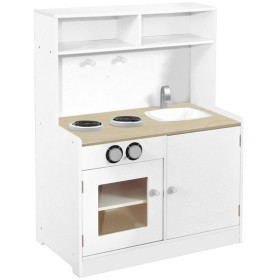 キッチン 木製 おままごと 木製マイシリーズ KISSBABY おままごとマイキッチン 組立品 ( 木のおもちゃ おもちゃ 台所 コンロ )