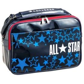 コンバース(CONVERSE) バスケットボール エナメルショルダー 27リットル ネイビー/ホワイト Lサイズ C1801052 2911 通勤通学 ショルダーバッグ かばん 鞄 部活