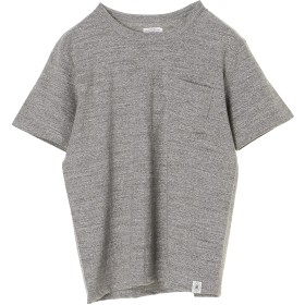 RIDING HIGH LOOP-WEEL POCKET TEE Tシャツ・カットソー,MIX GRAY