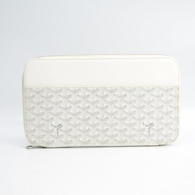 78451a0a179f ゴヤール オペラ オーガナイザー メンズ キャンバス,レザー 長財布(二つ折り) ホワイト