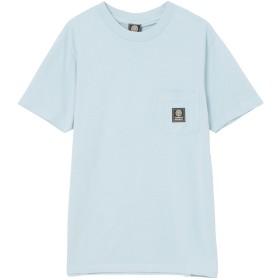 FRANKLIN & MARSHALL SS-Tシャツ Tシャツ・カットソー,PASTEL BLUE