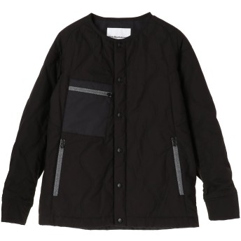 White Mountaineering PRIMALOFT QUILTED NO COLLAR JACKET その他 ジャケット・ブルゾン,ブラック