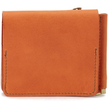 SLOW SLOW スロウ 財布 ウォレット toscana -compact wallet(money clip with coin & card pocket)- 財布,オレンジ