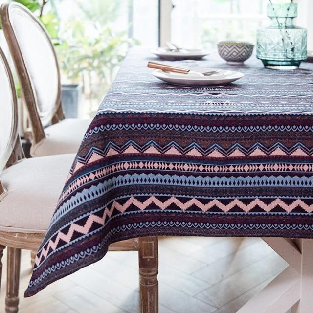 時尚可愛空間餐桌布 茶几布 隔熱墊 鍋墊 杯墊 餐桌巾597 (80*120cm)