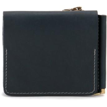 SLOW SLOW スロウ 財布 ウォレット toscana -compact wallet(money clip with coin & card pocket)- 財布,ネイビー