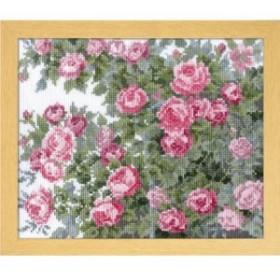 オリムパス製絲 オノエ・メグミ ししゅうキット 愛すべき花たち オールドローズ 7450