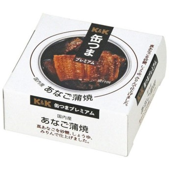缶つま プレミアム 国内産 あなご蒲焼 80g【おつまみ・食品】