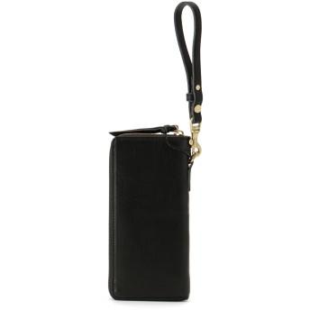 SLOW SLOW スロウ 財布 ウォレット bono -round long wallet- 財布,ブラック