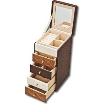 ユーパワー Chest Jewelry Box チェスト ジュエリー ボックス Sサイズ ブラウン CB-03002