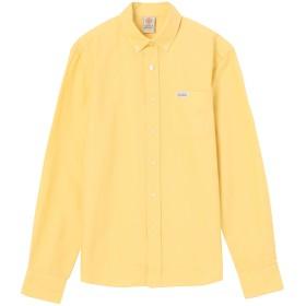 FRANKLIN & MARSHALL LS-シャツ シャツ・ブラウス,SUN YELLOW