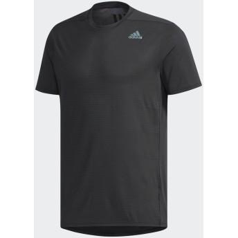 adidas men's Snova リフレクト半袖Tシャツ ランニング・トレーニングウェア,ブラック