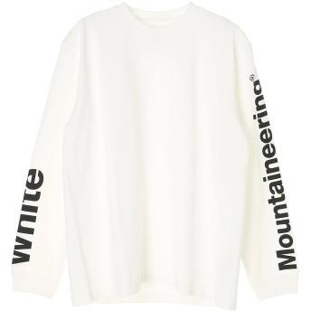 White Mountaineering LOGO PRINTED SLEEVES SWEATSHIRT Tシャツ・カットソー,ホワイト