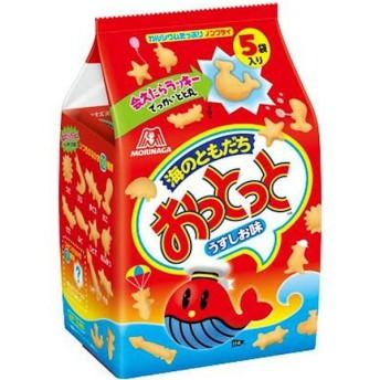 森永製菓 おっとっと うすしお味 1パック(5袋入) 1セット(2袋)