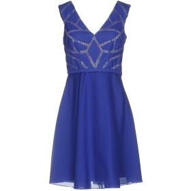 《期間限定セール中》MUSANI COUTURE レディース ミニワンピース&ドレス ブライトブルー 42 ポリエステル 100%