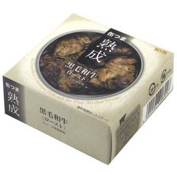 缶つま 熟成 黒毛和牛 ロースト 60g【おつまみ・食品】