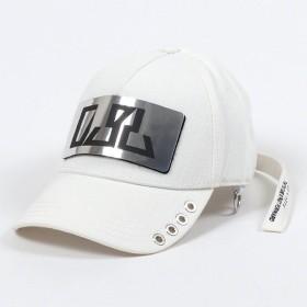 DIESEL ディーゼル 00SPNU 0WAMR C-BULLY HAT デニムキャップ ベースボールキャップ 帽子 ロゴプレート 100 ユニセックス メンズ