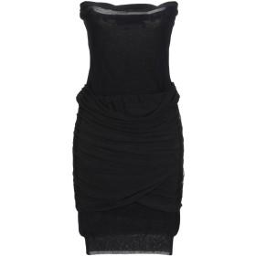 《セール開催中》PATRIZIA PEPE SERA レディース ミニワンピース&ドレス ブラック I レーヨン 80% / ナイロン 20%