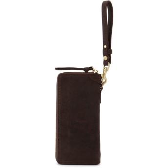 SLOW SLOW スロウ 財布 ウォレット kudu -round long wallet- 財布,ブラック