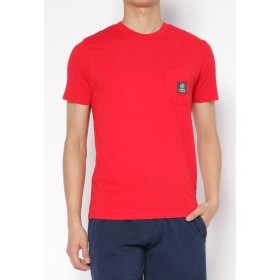 FRANKLIN & MARSHALL SS-Tシャツ Tシャツ・カットソー,FIRE RED
