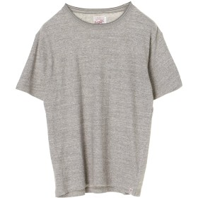 RIDING HIGH 16/-JERSEY RIB TEE Tシャツ・カットソー,MIX GRAY