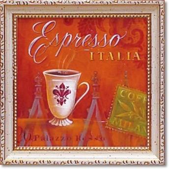 ユーパワー ミニゲル アートフレーム アンジェラ スターリング 「エスプレッソ・イタリア」 AS-02004