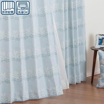 (1枚入り)既製カーテン(コライユ 100X110X1) ニトリ 『玄関先迄納品』 『1年保証』