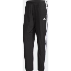 adidas men's M ESSENTIALS 3ストライプス ウインドパンツ ランニング・トレーニングウェア,ブラック