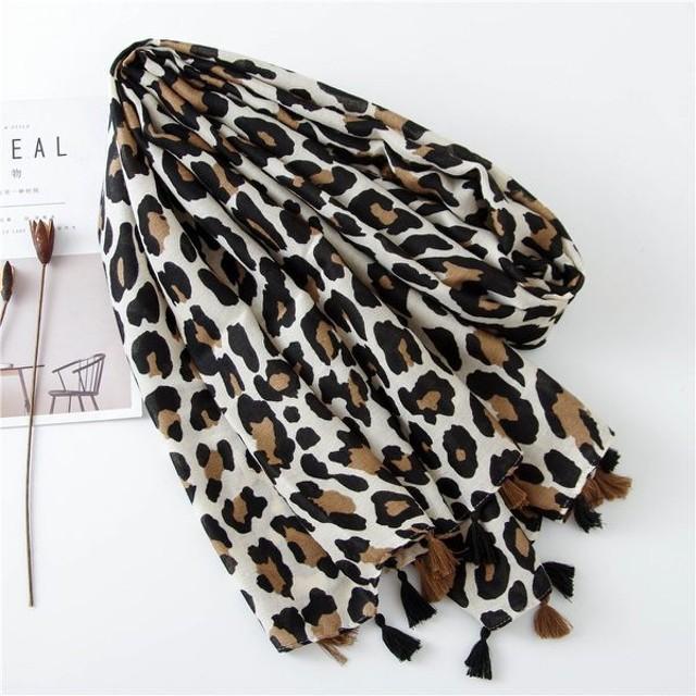 新款時尚棉質柔軟絲巾圍巾 文藝空調披肩 防曬披肩75