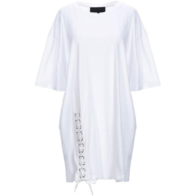 《9/20まで! 限定セール開催中》KENDALL + KYLIE レディース T シャツ ホワイト XS コットン 100%