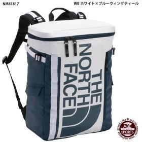 【THE NORTH FACE】BC Fuse Box II ヒューズボックス/ノースフェイス バッグ (NM81817) WB ホワイト×ブルーウィングティール
