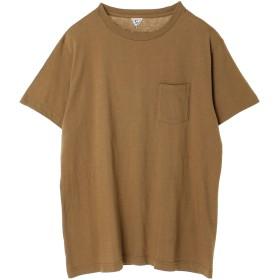 FilMelange SUNNY ポケットTシャツ Tシャツ・カットソー,ブラウン