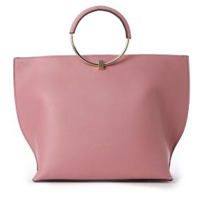サマンサタバサ マル持ち手バッグ ピンク