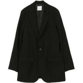 SISE TAILORED JACKET テーラードジャケット,ブラック