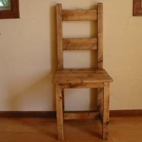 カントリーアウトレット!椅子シンプル(D)受注製作