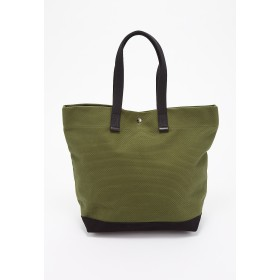 CaBas CaBas N°2 Tote large トートバッグ,カーキ/ブラック