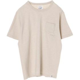 RIDING HIGH LOOP-WEEL POCKET TEE Tシャツ・カットソー,OATMEAL