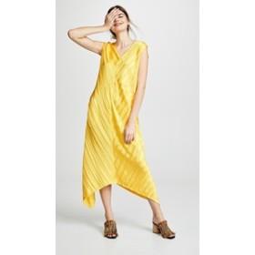 ゼロ マリア コルネホ ドレス ミディドレス  レディース【Zero + Maria Cornejo Foulard Dress】Yellow