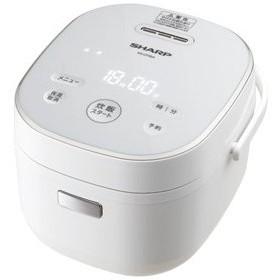 シャープ ジャー炊飯器 (3合炊き) ホワイト系 SHARP KS-CF05A-W 返品種別A
