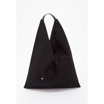 CaBas CaBas N°40 Triangle tote large トートバッグ,ブラック/ブラック