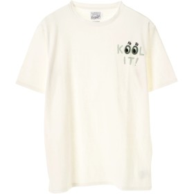 RIDING HIGH HANDLE EMBROIDERY TEE Tシャツ・カットソー,KOOL(OFF WHITE)