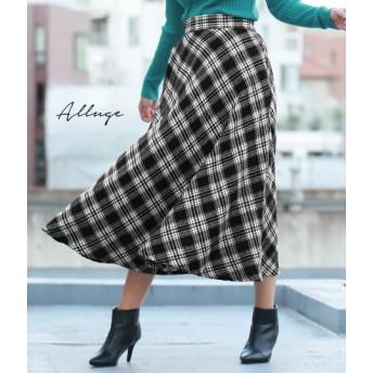 【セール開催中】ANAP(アナップ)バイヤスチェックフレアスカート