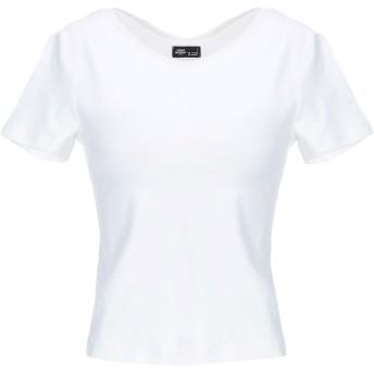 《9/20まで! 限定セール開催中》CHEAP MONDAY レディース T シャツ ホワイト XS コットン 95% / ポリウレタン 5%