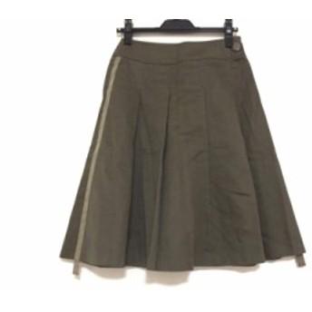 ロイスクレヨン Lois CRAYON スカート サイズM レディース カーキ【中古】