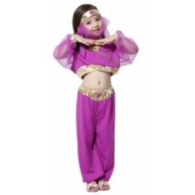 966534c43bd96 ハロウィン アラビア王女 コスプレ 仮装衣装 ドレス パフォーマンス ハロウィーン 子供用 子供服
