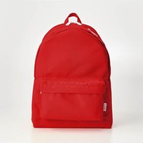 バッグ カバン 鞄 レディース リュック  10ポケットデイパック レッド