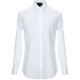 《期間限定セール開催中!》CAVALLI CLASS メンズ シャツ アイボリー 48 コットン 100%