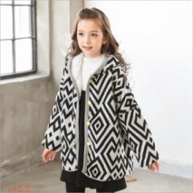 子供服 ブルゾン カウチン セーター ニットジャケット・襟付きカーディガン