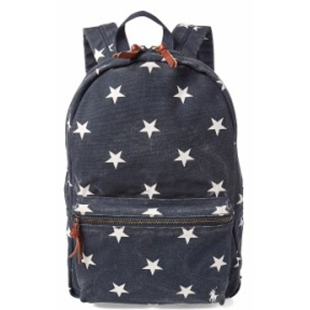 5129be92ebb1 ポロ ラルフローレン スタープリント キャンバス バックパック リュック POLO RALPH LAUREN STAR-SPANGLED  Backpack